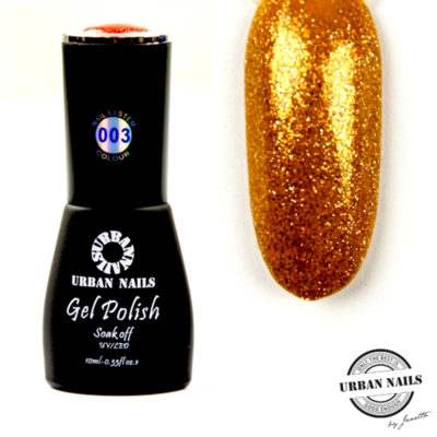 Colorful Crystal limited Gel Polish Collectie 003 Brons