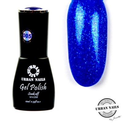 Colorful Crystal limited Gel Polish Collectie 005 Donkerblauw