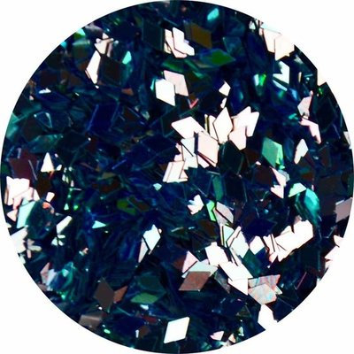 Diamond Shape Blauw (klein)