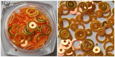 Inlay Line 13 hologram oranje