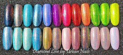 Instructie Video Urban Nails Diamond Line glitter