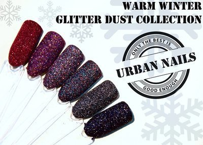Instructie video: Urban Nails Glitter Dust Design met Pro & Go