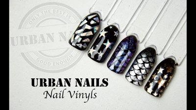 Instructie video: Urban Nails Nail Vinyl