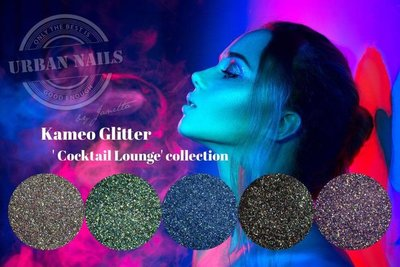 """Urban Nails Kameo Glitter """"Cocktail Lounge"""" Collection"""