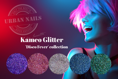 """Urban Nails Kameo Glitter """"disco fever"""" Collection"""