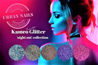 """Urban Nails Kameo Glitter """"night out"""" Collection"""