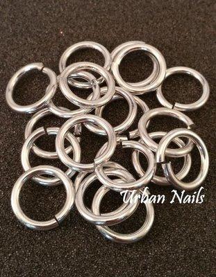 Zilveren (sluitbare) Ringen