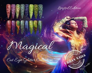 Limited Magical Cat Eye Glitter Collection