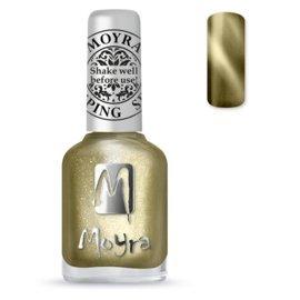 Moyra Stamping Nail Polish Cat Eye SP31 Gold